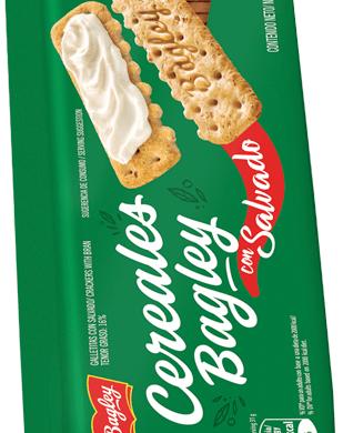 BAGLEY galletita salvado cereales x169g
