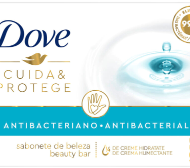 DOVE jabon tocador antibacterial x90g