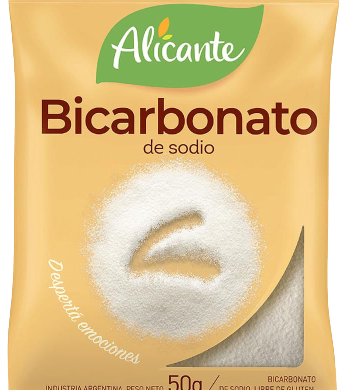 ALICANTE bicarbonato de sodio x50g