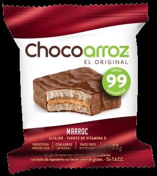 CHOCOARROZ alfajor marroc x22g