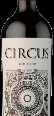 CIRCUS vino red blend x750cc