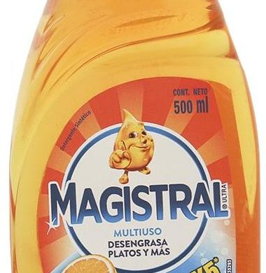 MAGISTRAL detergente naranja multiuso x500cc