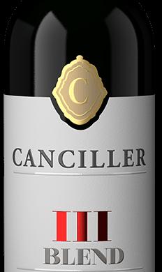 CANCILLER vino tinto blend III x750cc.edicion especial