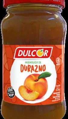 DULCOR mermelada durazno x454gfco.