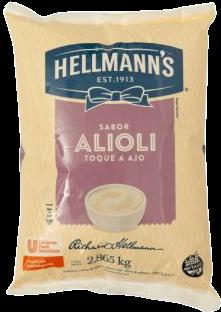 HELLMANNS mayonesa alioli x2.86Kg