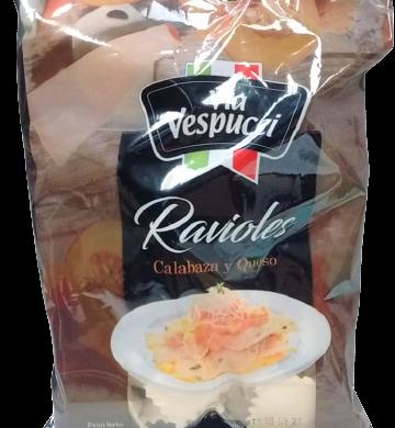 V/VESPUCCI ravioles calabaza queso x500g