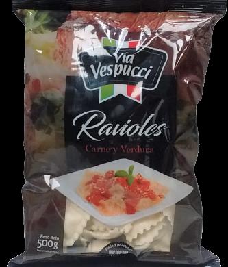 V/VESPUCCI ravioles carne verdura x500g