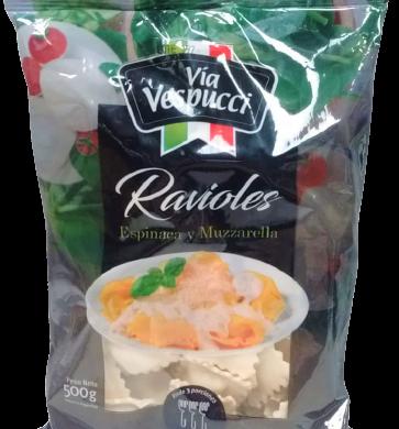 V/VESPUCCI ravioles espinaca muzzarella x500g