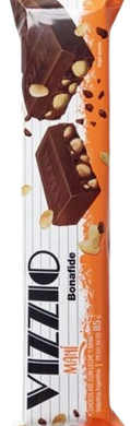 VIZZIO chocolate con mani x85g