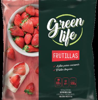 GREEN LIFE frutillas x550Gra