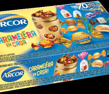 ARCOR caramelos surtidos x242g