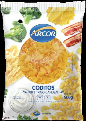 ARCOR fideos codito x500g