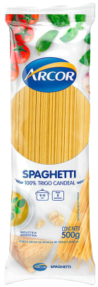 ARCOR fideos spaghetti x500g