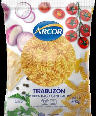 ARCOR fideos tirabuzon x500g