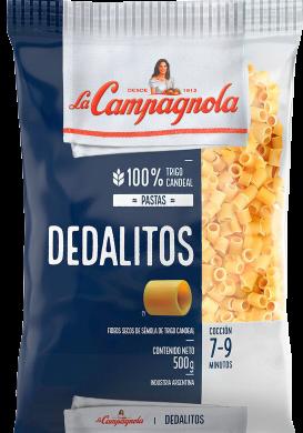 CAMPAGNOLA fideos dedalitos x500g