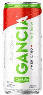 GANCIA americano+lima limon x354cc