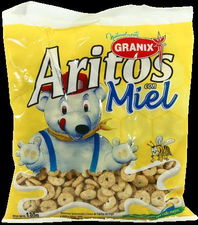 GRANIX aritos miel x130g