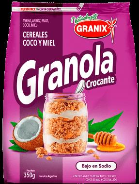 GRANIX granola crocante coco/miel x350Gra