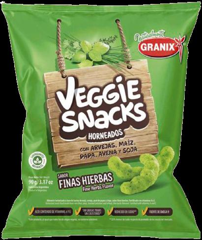 GRANIX snacks finas hierbas