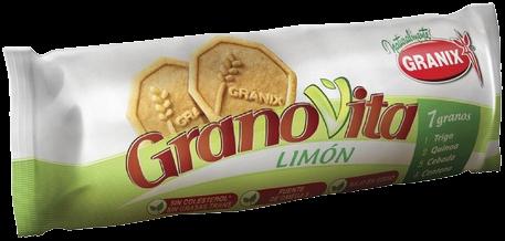 GRANOVITA galletitas limon