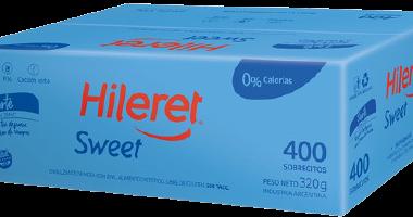 HILERET edulcorante sweet forte x400u