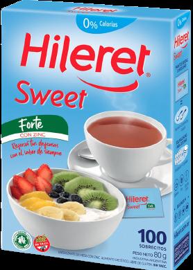 HILERET edulcorante sweet forte x100u