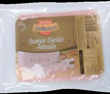 LA CASONA jamon cocido feteado x200g