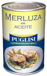 PUGLISI merluza en aceite sin tacc x380g