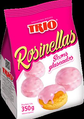 TRIO galletita rosinellas x350g.