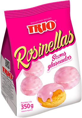 TRIO galletitas rosinellas x350g