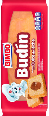 BIMBO budin c/dulce de leche x220g