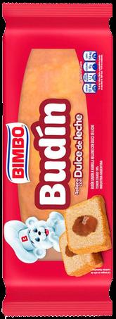 BIMBO budin dulce de leche