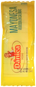 DANICA mayonesa porcion 192u.x8g.
