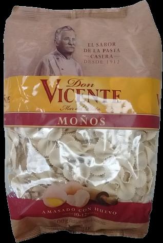 DON VICENTE fideos moños x500g