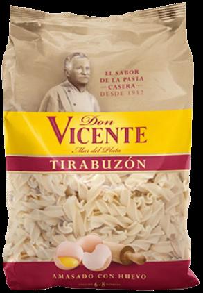 DON VICENTE fideos tirabuzon