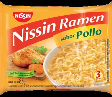 NISSIN sopa ramen pollo x85g