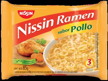 NISSIN sopa ramen pollo