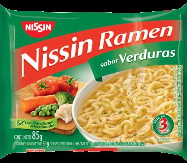NISSIN sopa ramen verduras x85g