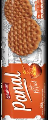 OKEBON galletita panal miel x242g