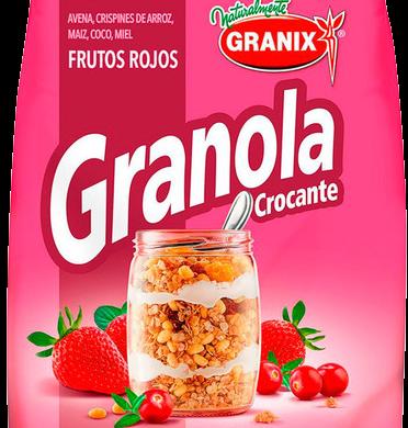 GRANIX granola crocante frutos rojos x350g