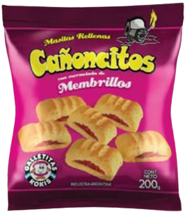 KOKIS galletita canoncitos x200g
