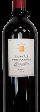 ESCORIHUELA GASCON vino malbec peq.producc. x750cc