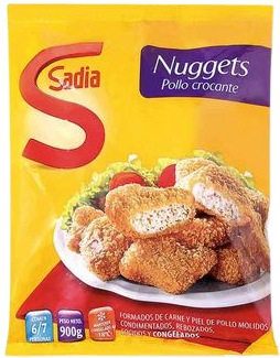 SADIA nuggets pollo crocante x900g